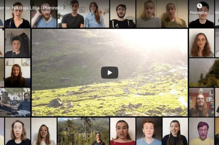 Slovenski zbori se nam predstavljajo virtualno
