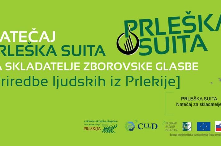 Natečaj za skladatelje zborovske glasbe: Prleška suita – prijave do 15. aprila 2021