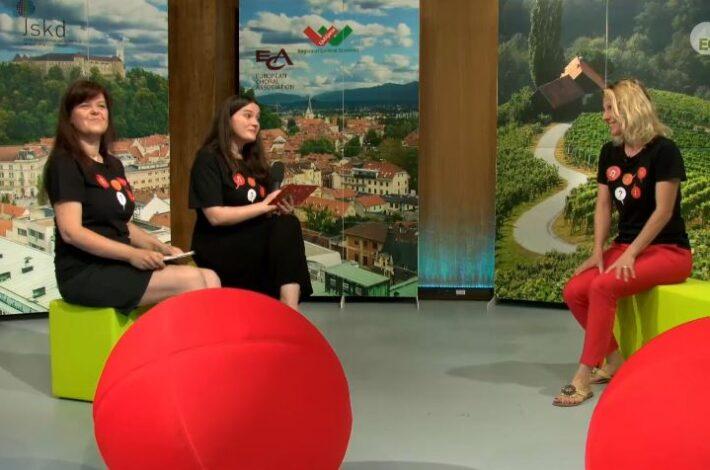 Iz studia: pogovor z Joži Vovk o delu na Europa Cantat TV