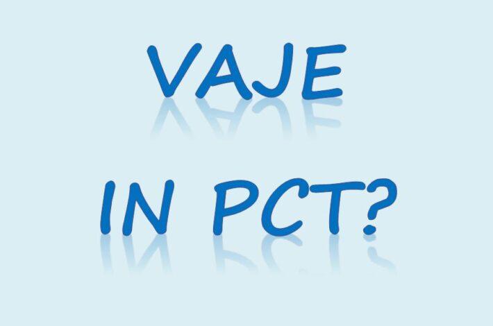 Pogoj PCT in pevske vaje odraslih zborov